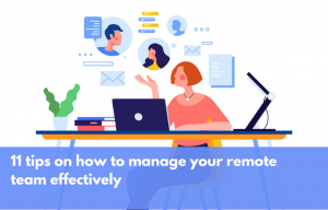 Tips to manage remote working