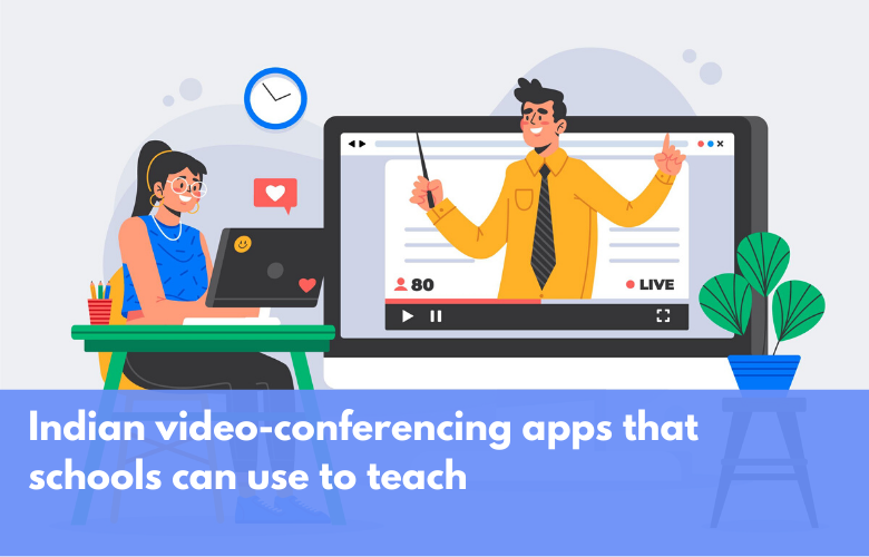 Financial Express – Indian video-conferencing apps that schools can use to teach