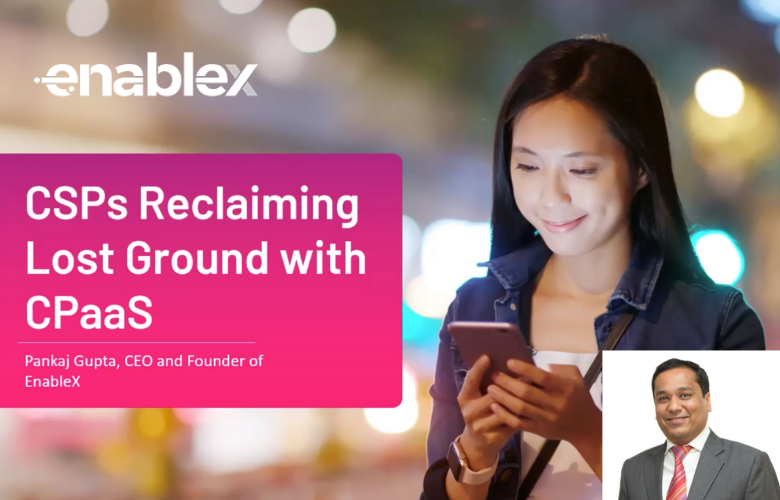 How Telcos can Regain Lost Ground with CPaaS- EnableX Talk at Telecoms World Asia 2020